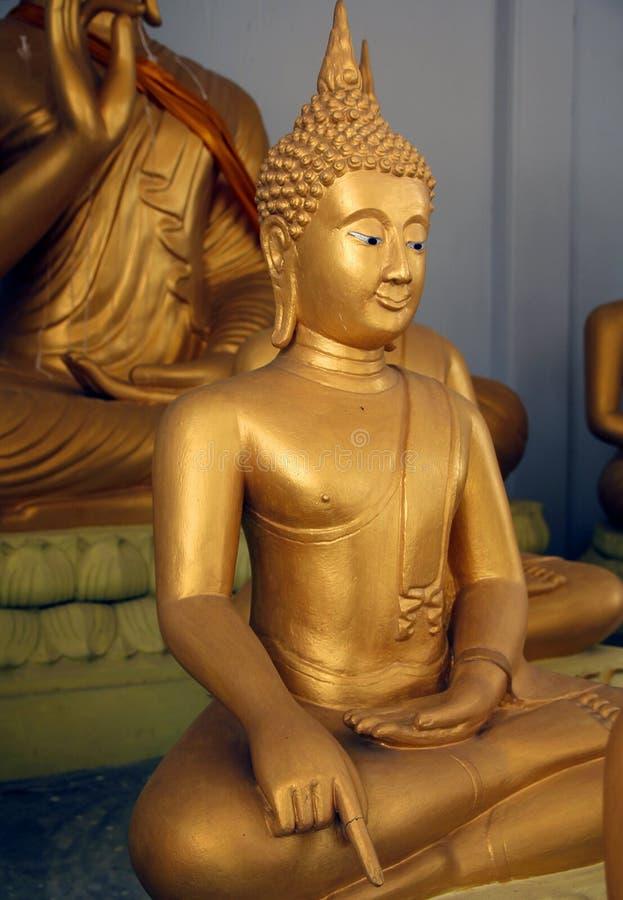 Großartiger Buddha stockbild