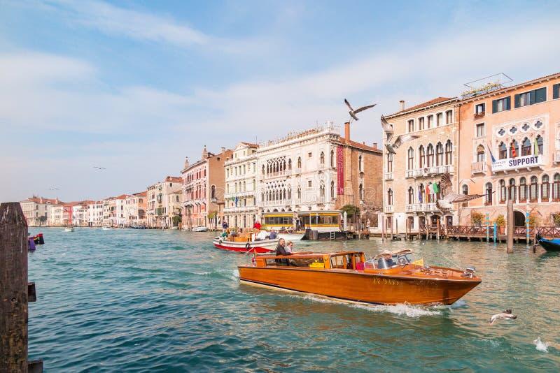 Großartiger Kanal, Venedig lizenzfreie stockfotografie