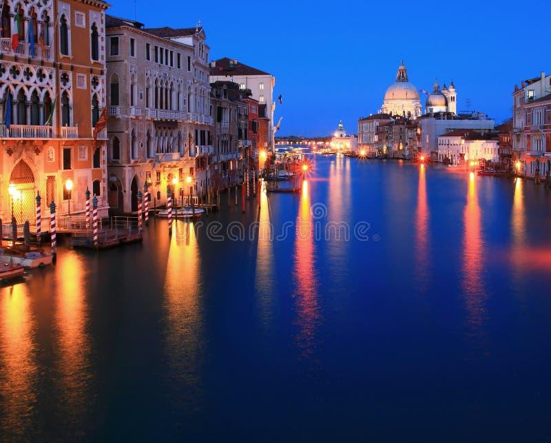 Großartiger Kanal Venedig Italien lizenzfreie stockfotos