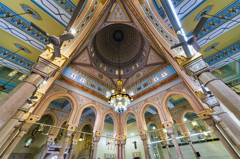 Großartiger Moscheeninnenraum Jumeirah, Dubai stockfotos