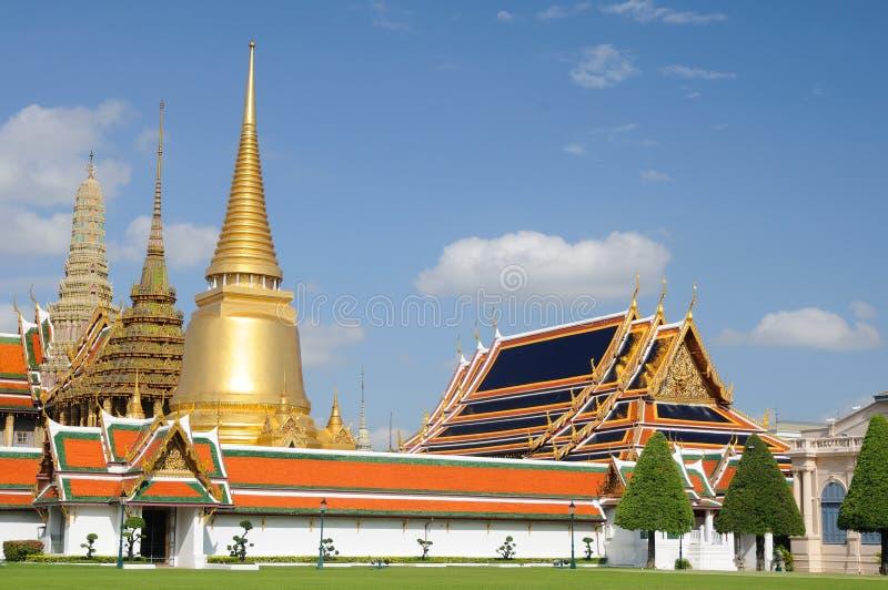Großartiger Palast in Bangkok lizenzfreies stockbild