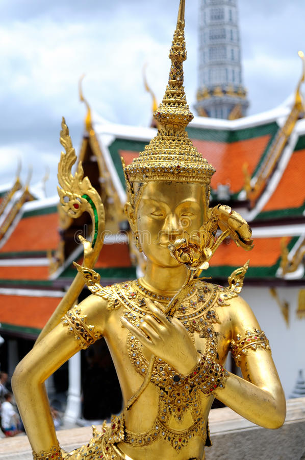 Großartiger Palast in Bangkok stockbilder