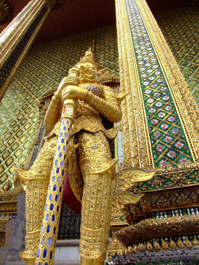 Großartiger Palast, Bangkok, Thailand. lizenzfreie stockfotos