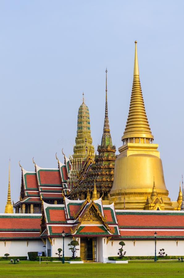 Großartiger Palast und Tempel von Smaragdbuddha lizenzfreie stockbilder