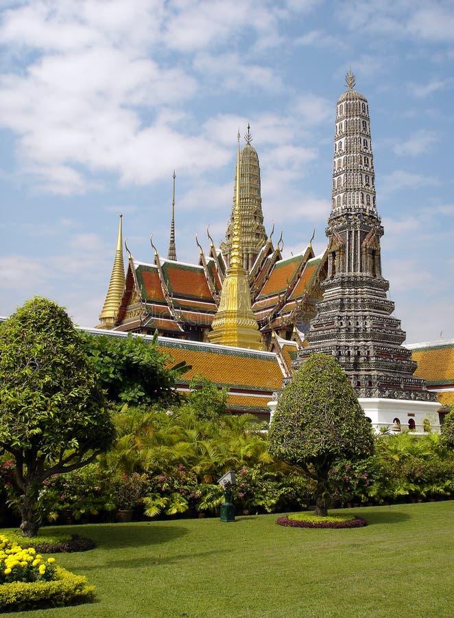 Großartiger Palast von Bangkok stockbild