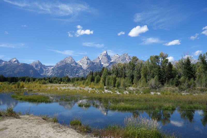 Großartiger Teton Nationalpark stockbilder