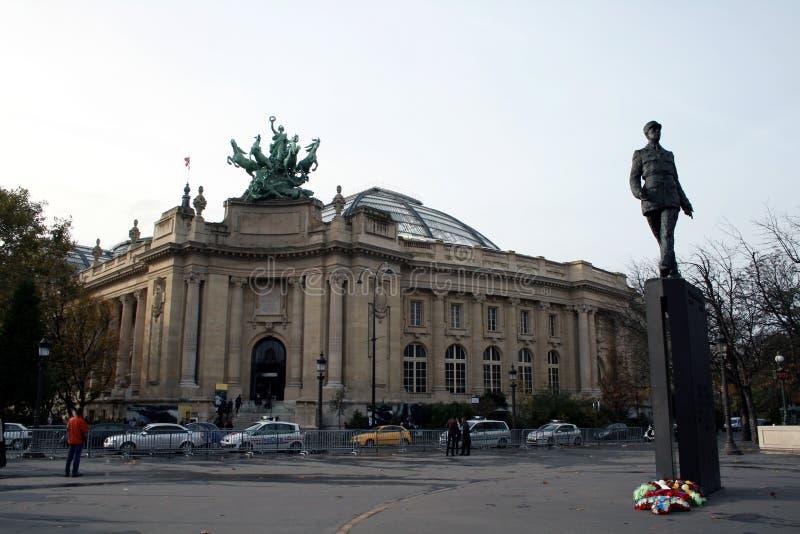 Großartiges Palais (großartiger Palast) in Paris, Frankreich lizenzfreies stockbild
