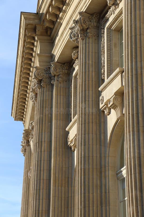 Großartiges Palais in Paris stockfoto