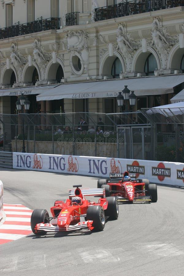 Großartiges Prix Historique Monte Carlo lizenzfreies stockbild