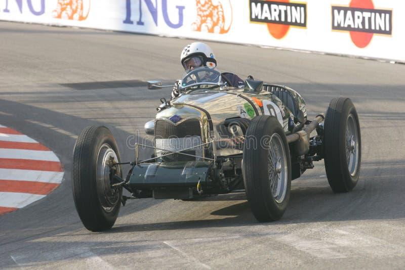 Großartiges Prix Historique Monte Carlo stockfoto