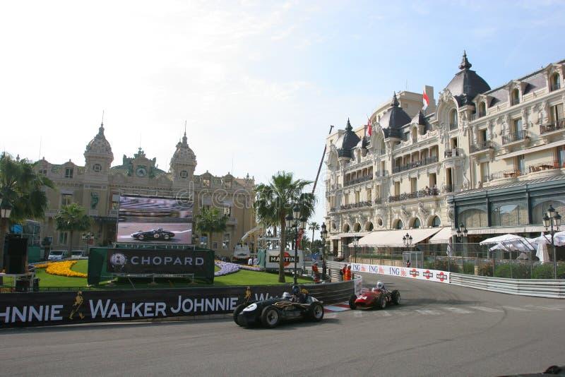 Großartiges Prix Historique Monte Carlo lizenzfreie stockfotografie