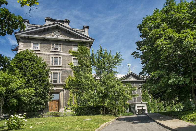 Großartiges séminaire de Montréal stockbild