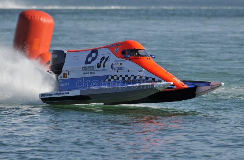 Großartiges Schnellboot Prix De-Portugal lizenzfreie stockbilder