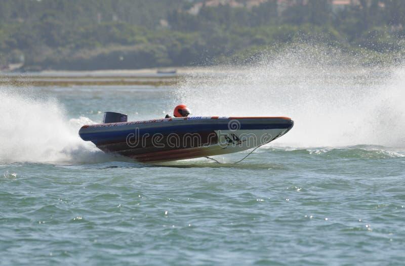 Großartiges Schnellboot Prix De-Portugal lizenzfreie stockfotos