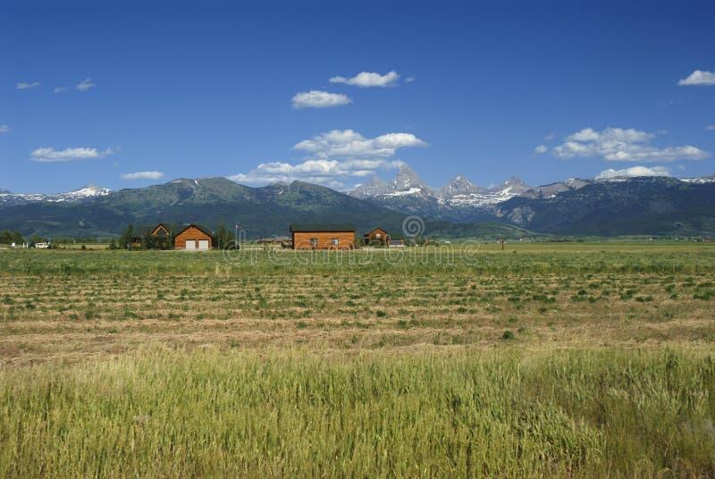 Großartiges Teton von Idaho stockfotografie