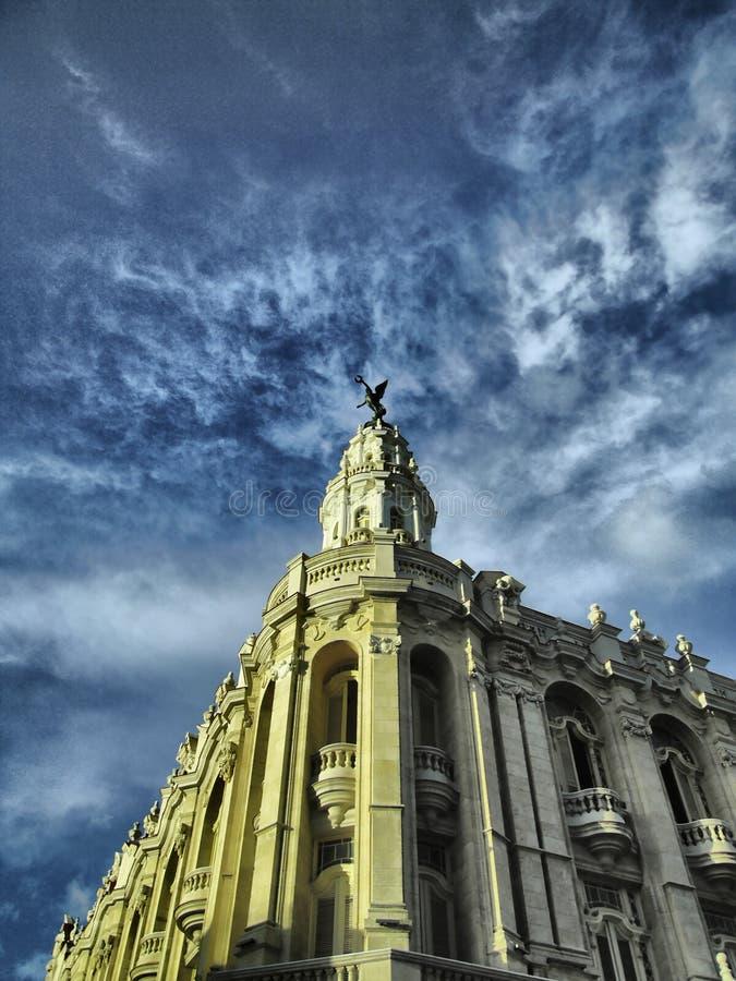 Großartiges Theater von Havana stockfotos