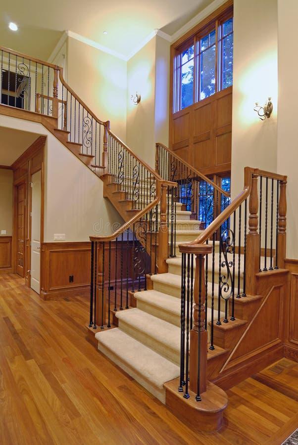 Großartiges Treppenhaus stockfotos