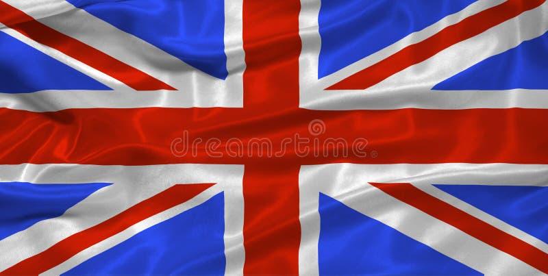 Großbritannien-Markierungsfahne 3 stock abbildung