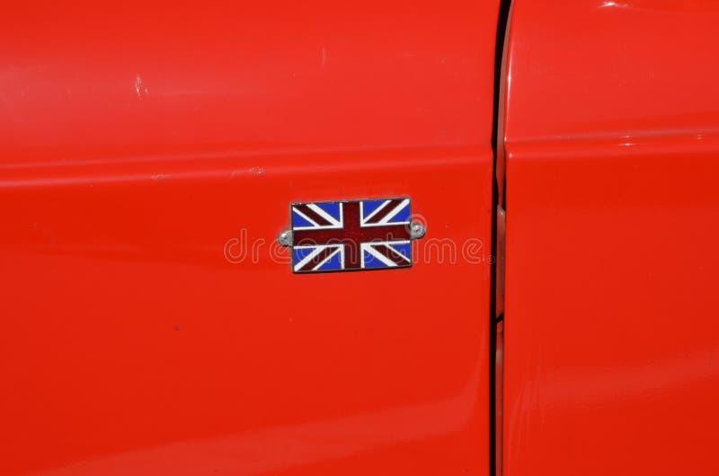 Großbritanniens Markierungsfahne Stockfotos