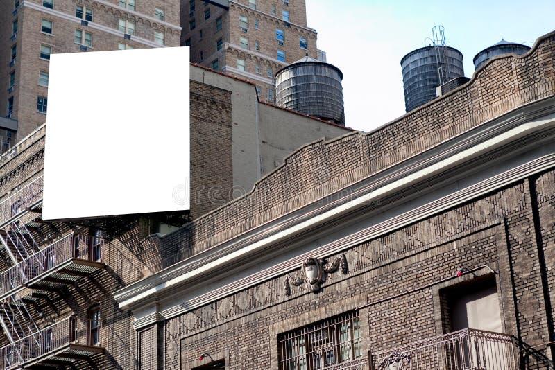 Große Anschlagtafel- und Wasserbehälter stockfotografie