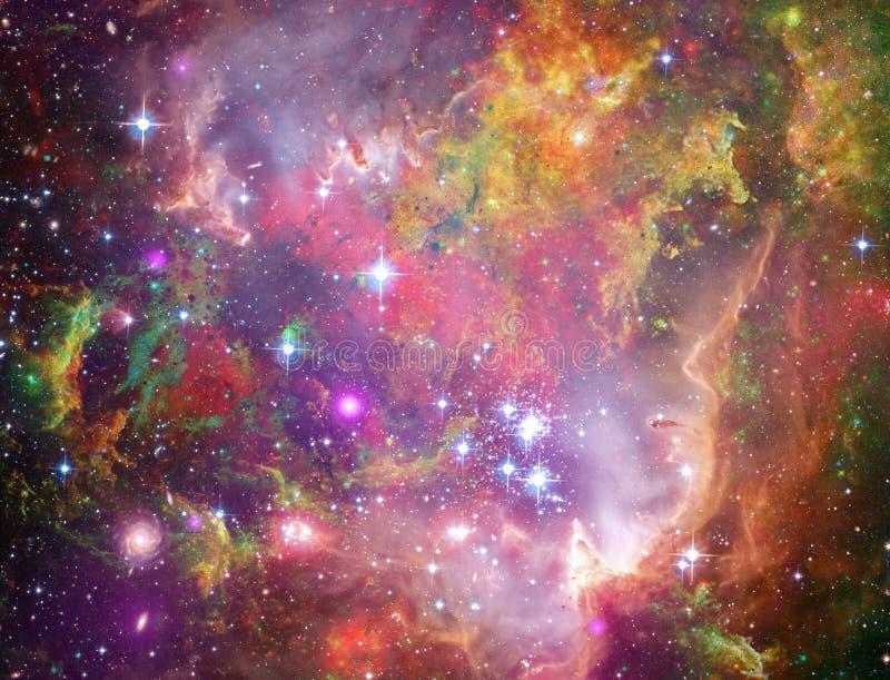 Große Babys in Rosette Nebula stock abbildung