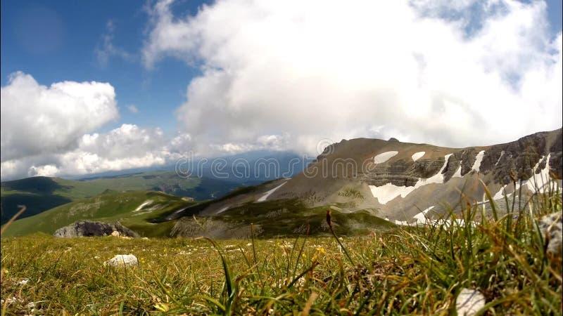 Große Berge stock footage