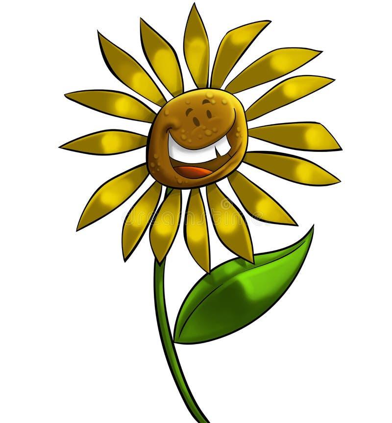 Große Blume vektor abbildung
