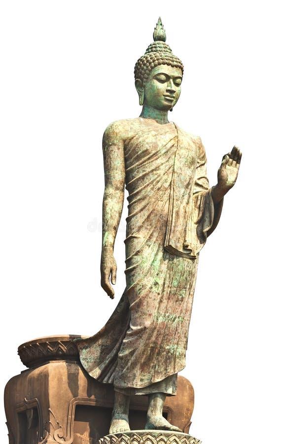 Download Große Buddha-Statue stockbild. Bild von augen, serenity - 26351509