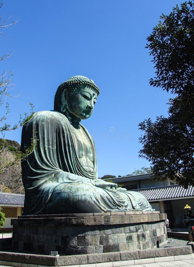 Große Buddha-Statue von Kamakura, Japan lizenzfreies stockfoto