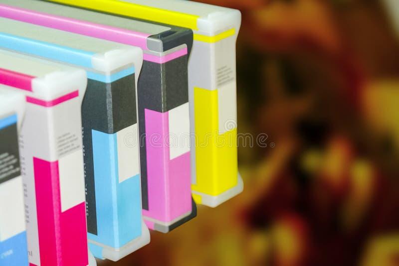 Große Druckerformat-Tintenstrahlfunktion stockfotografie