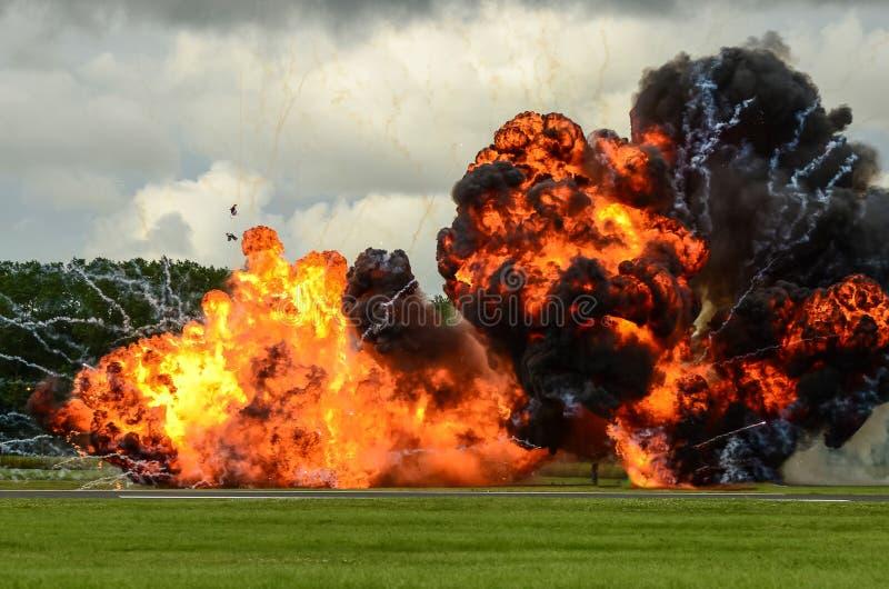 Große Explosion lizenzfreies stockfoto