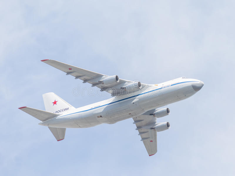 Große Flugzeuge 124-100 lizenzfreie stockbilder