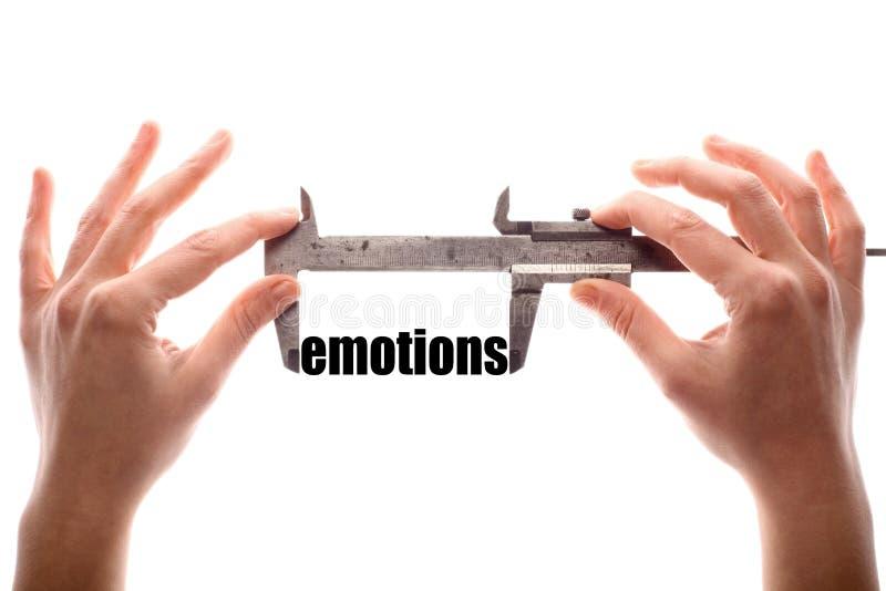 Große Gefühle stockbilder