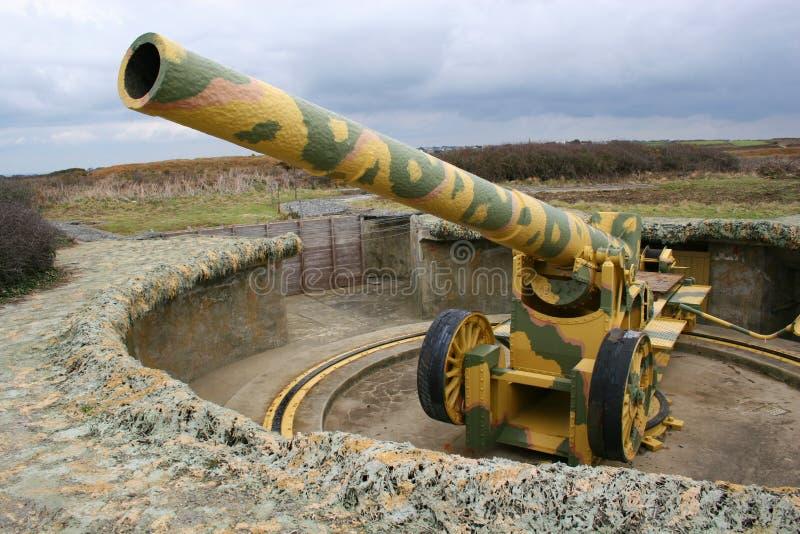 Große gelbe Gewehr 2 lizenzfreie stockfotos