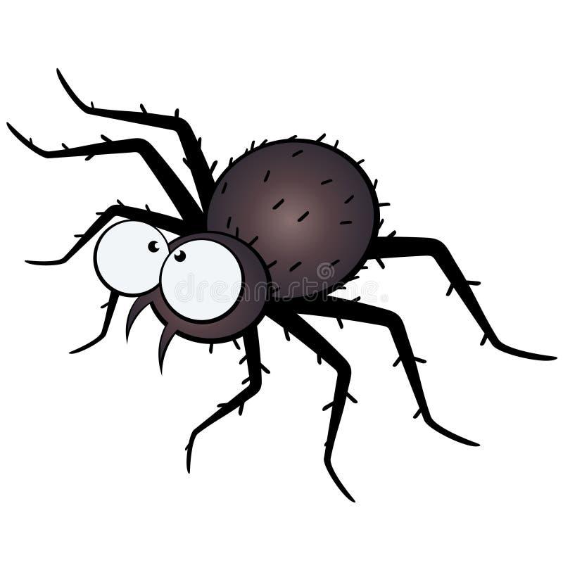 Download Große Gemusterte Spinnenabbildung Vektor Abbildung - Illustration von abbildung, sonderkommandos: 9084416
