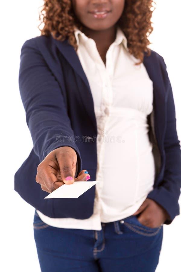 Große Geschäftsfrau lizenzfreie stockfotografie
