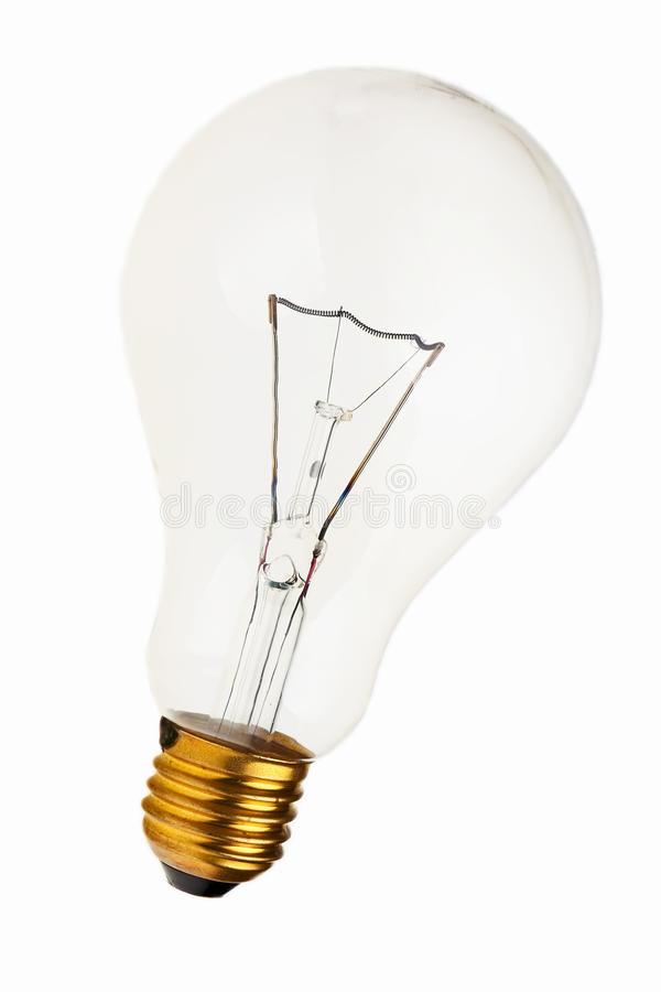 Große Glühlampe. lizenzfreies stockfoto