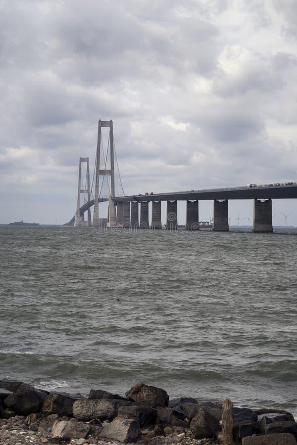 Große Gurt-Brücke stockfoto