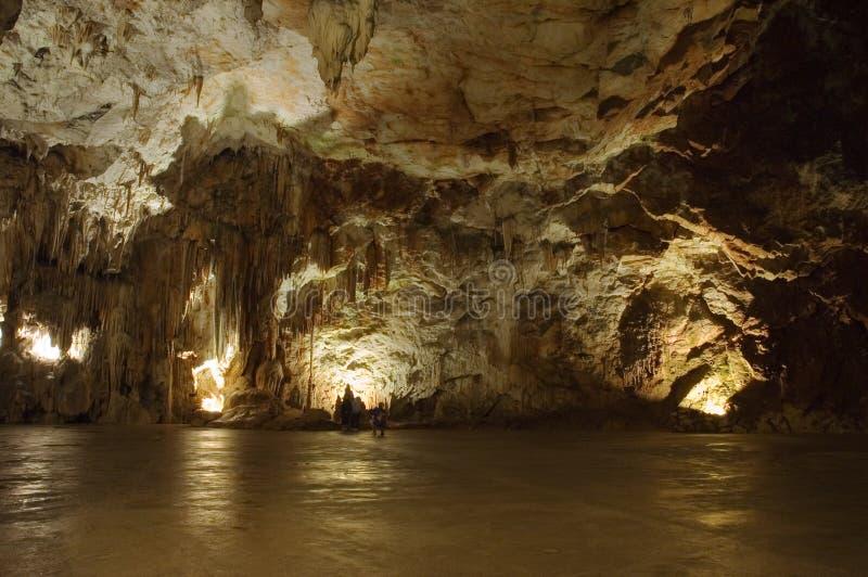 Große Höhlehalle stockfotos
