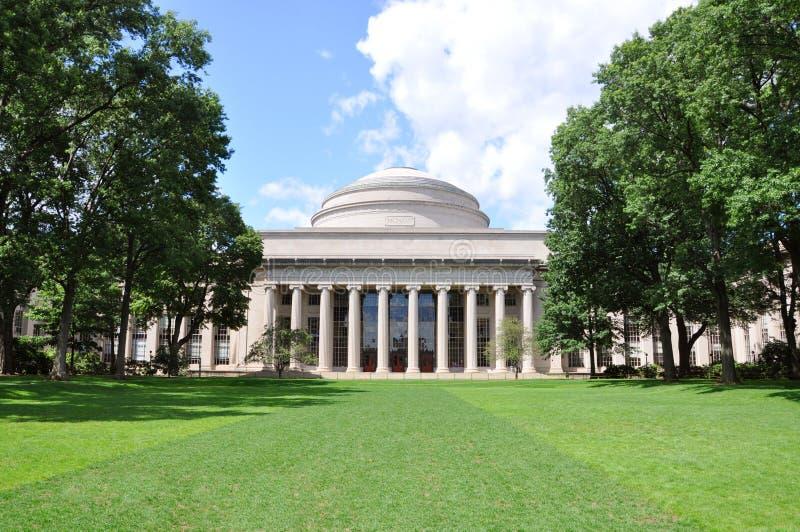 Große Haube von MIT lizenzfreie stockbilder