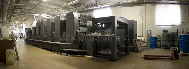 Große Herstellungsmaschine stockbilder