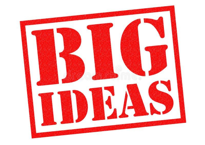 Große Ideen vektor abbildung