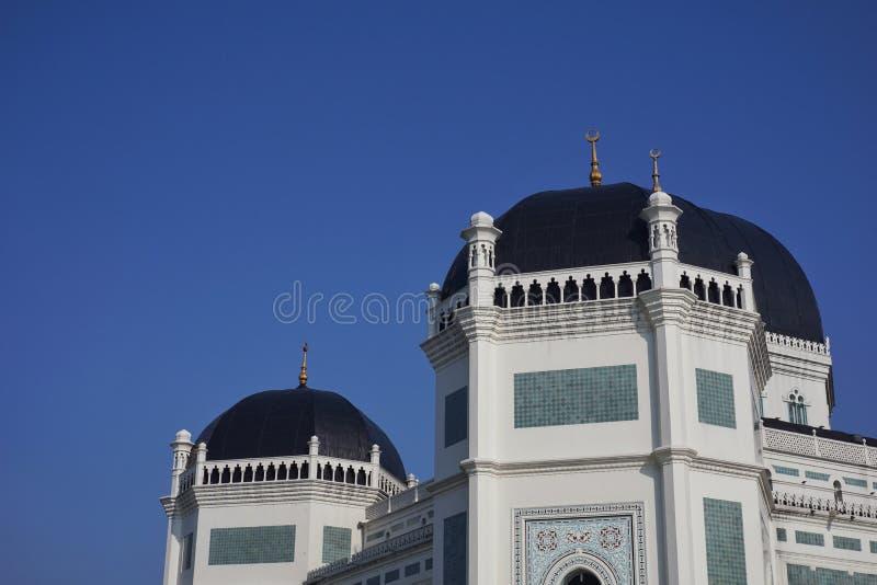 Große Moschee Medan lizenzfreie stockbilder