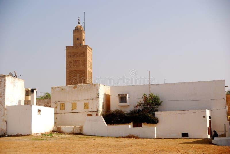 Große Moschee, Verkauf, Marokko stockbild