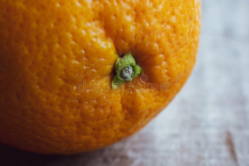 Große Navel-Orange Frucht, Abschluss oben lizenzfreie stockfotografie