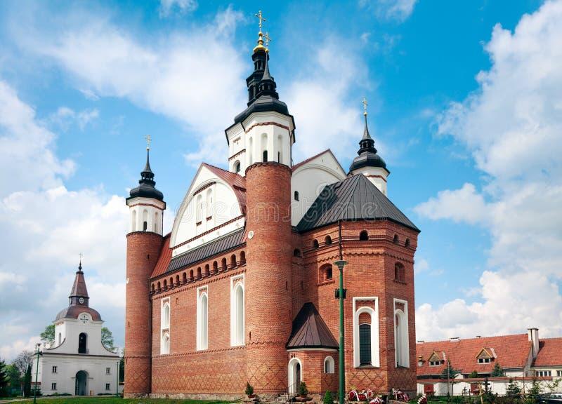 Große orthodoxe defensive Kirche lizenzfreies stockfoto