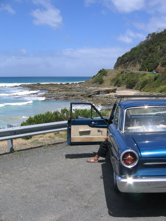 Große Ozean-Straße stockfoto