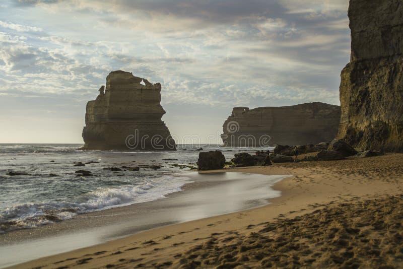 Große Ozean-Straße Reise-Australiens Zwölf Apostel lizenzfreies stockfoto