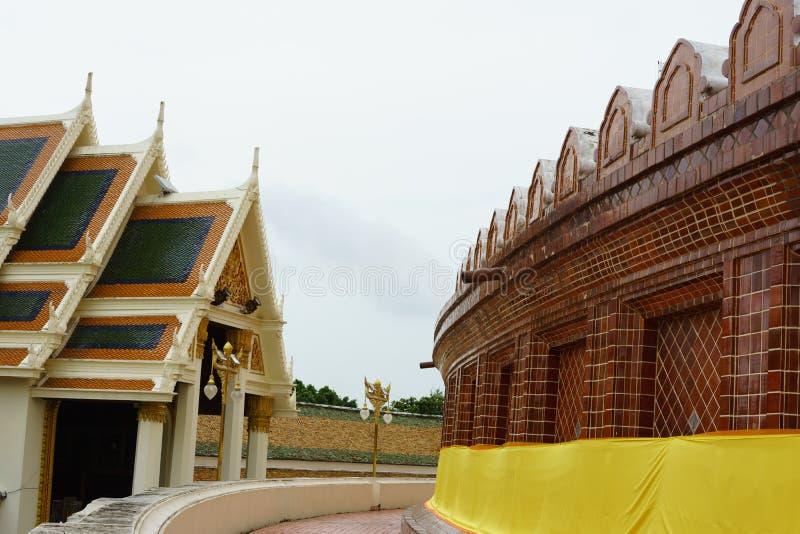 Große Pagode Phra Pathom Chedi, Nakhon- Pathomprovinz, Thailand lizenzfreie stockfotos