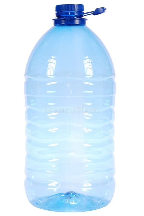 Große Plastikflasche stockbild